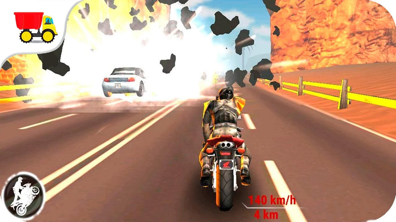 Bike Racing Games Highway Stunt Bike Riders Gameplay