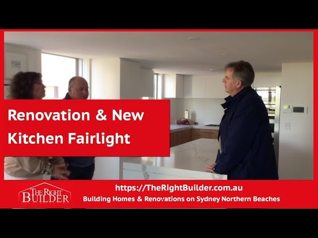 Renovation & New Kitchen Fairlight Customer Testimonial