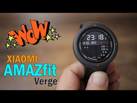 Xiaomi Amazfit Verge Review - Best Budget Smartwatch, make receive calls, Special Price Rs. 12,700