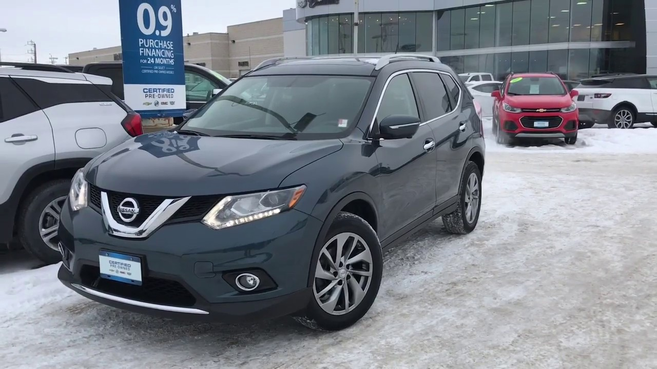 2014 Nissan Rogue SL Review