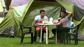 Flirten op de camping
