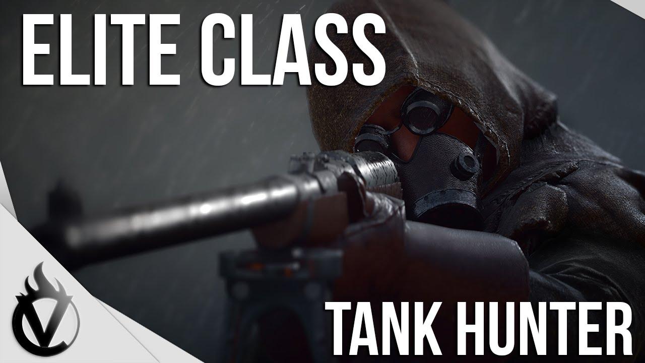 Battlefield 1 Elite Class Tank Hunter Guide Youtube