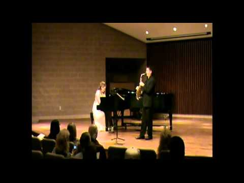 Three Preludes (1926) Piano and Saxophone Duo