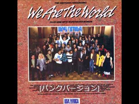 We Are The World-PUNK ALL STARS