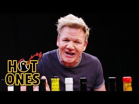 Sean's Gordon Ramsay Nightmare | Hot Ones