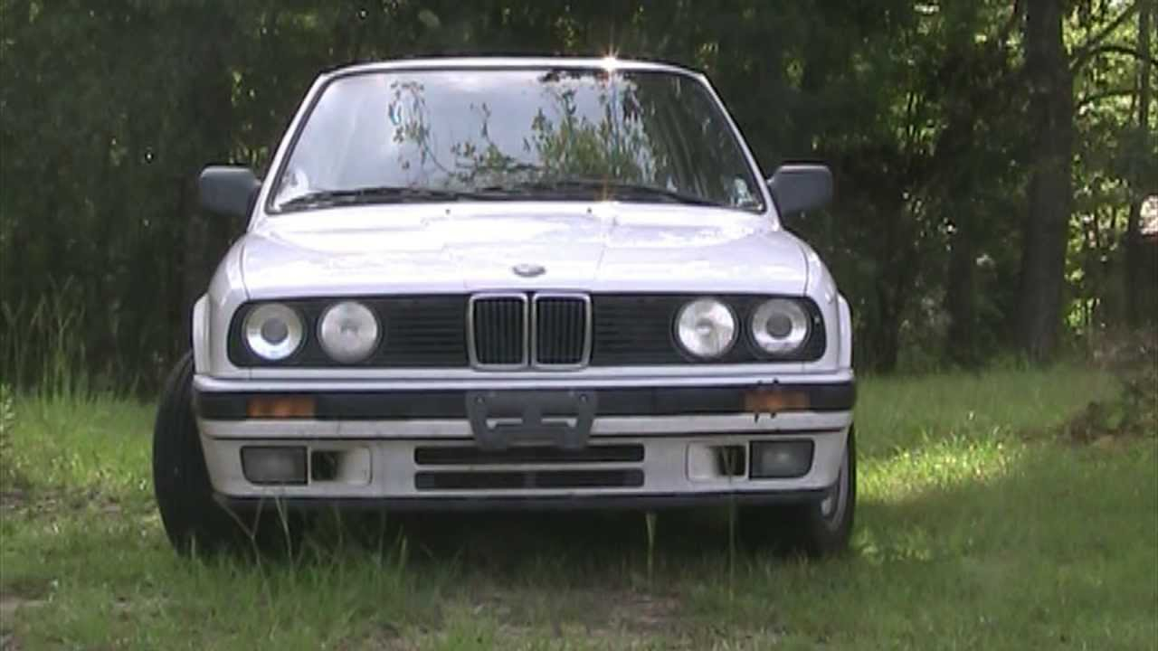 BMW Hood Shock Strut Replacement 1989 325I E30 DIY Do It Yourself