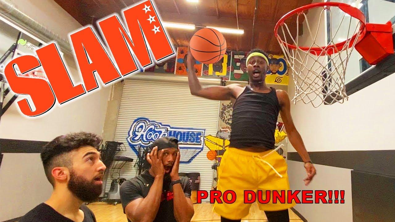 SLAM BALL (Tip Dunks off BOUNCE) w/ Ty the Guy, Chris Staples and Ryan Razooky