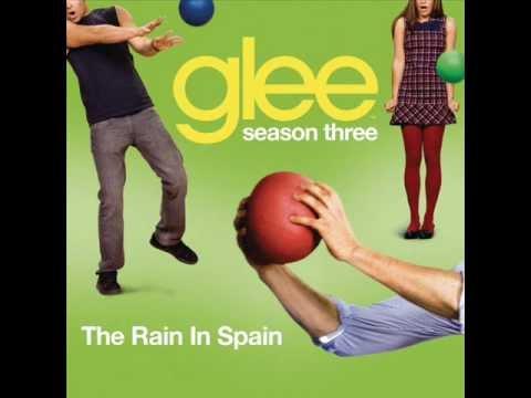 Glee Cast - The Rain In Spain (karaoke version)