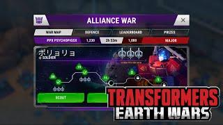 Alliance Wars Guide : Transformers Earth Wars