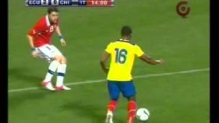 Ecuador goleó 3-0 a Chile en Nueva York