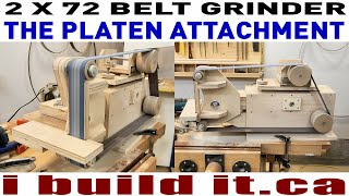 Making A 2 X 72 Belt Grinder - The Platen Attachment