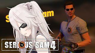 【Serious Sam 4】Aaaaaaaaaaaaaaaaaaaaa #3【獅白ぼたん/ホロライブ】