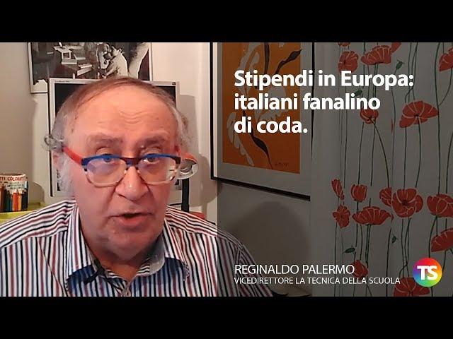 Stipendi in Europa: Italiani fanalino di coda