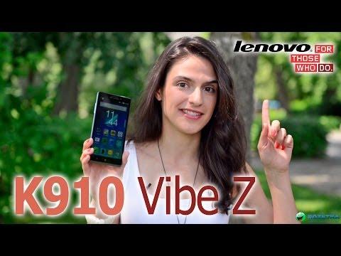 Обзор Lenovo K910 Vibe Z