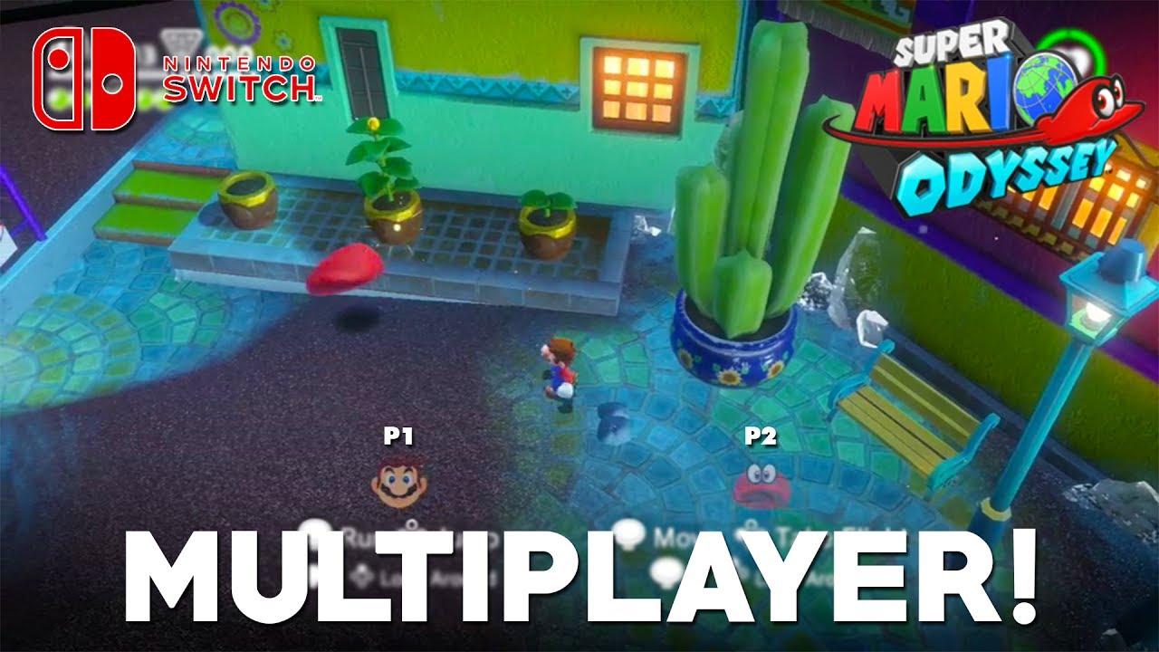 Super Mario Odyssey Multiplayer Co Op Confirmed Multiplayer Gameplay