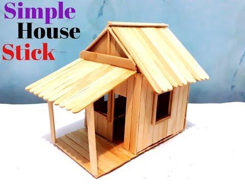 Video kali ini tentang cara membuat miniatur rumah dari stik es krim, selamat mencoba... Music By : .