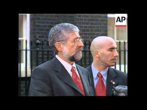 Israeli Labour Party Leader Meets Blair