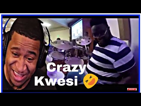 HA!! James Fortune Looked Like He Wanted To Hop On Keys!!!Drummer Reactions - Kwesi Robinson