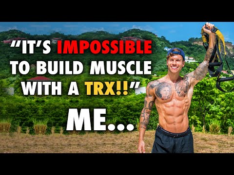 Can you build muscle with a TRX?