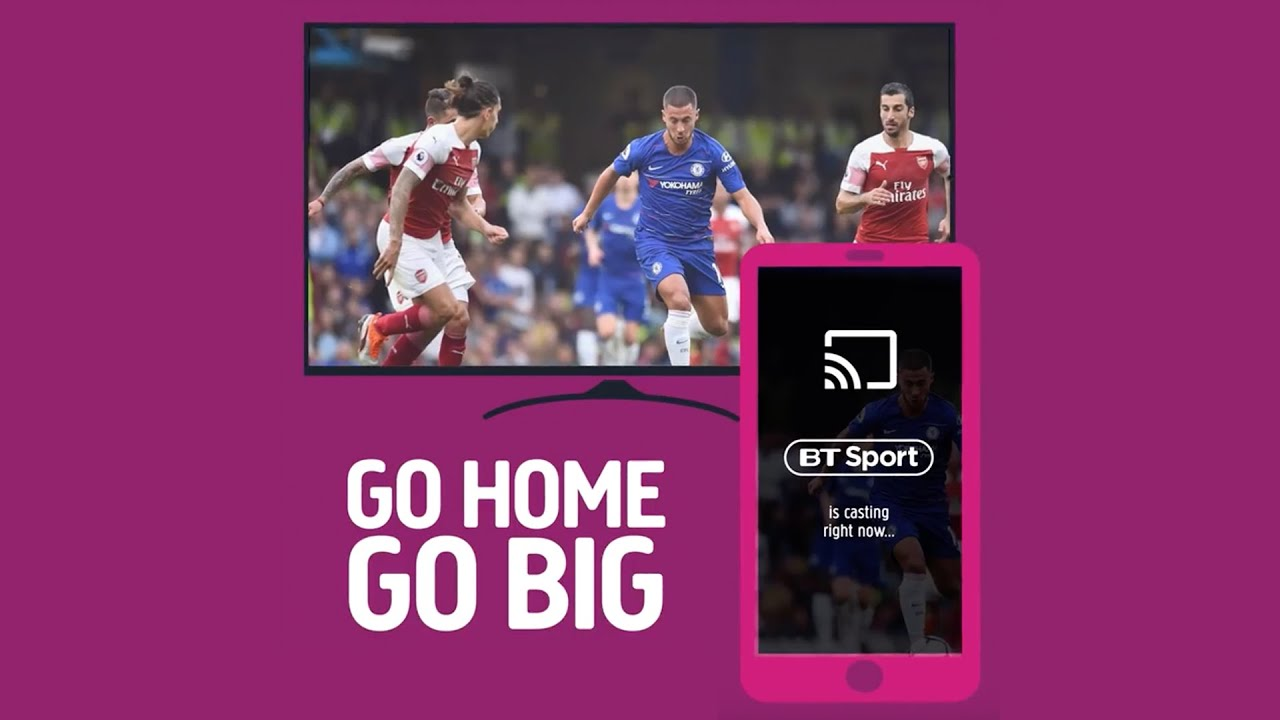 How to cast the BT Sport app to your TV