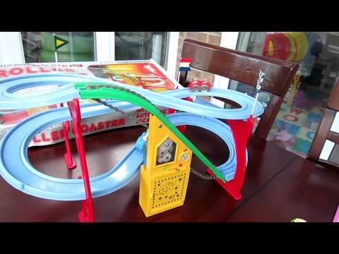 1960's(?) Roller Coaster Toy - Battery Powered, fully working, Cosmo