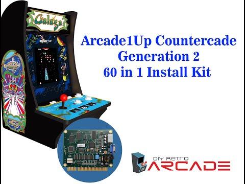 DIYRetroArcade 60 In 1 Arcade1Up Countercade Generation 2 Install Video from DIY Retro Arcade