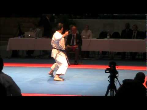 Kata KANKU DAI by Luca Valdesi - 46th EKF European Karate Championships