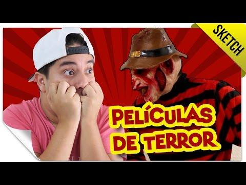 Películas de Terror en la Vida Real 2   SKETCH   QueParió! ft. Mario Aguilar