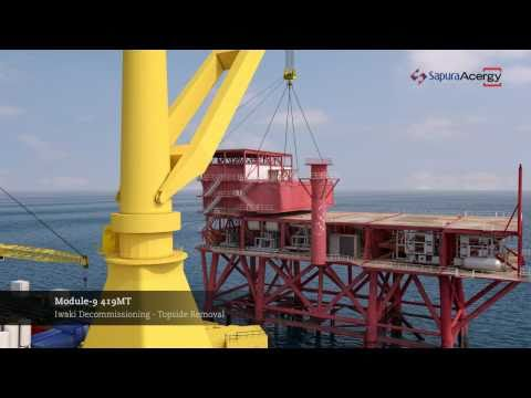 SapuraAcergy - Iwaki Platform Decommissioning Animation