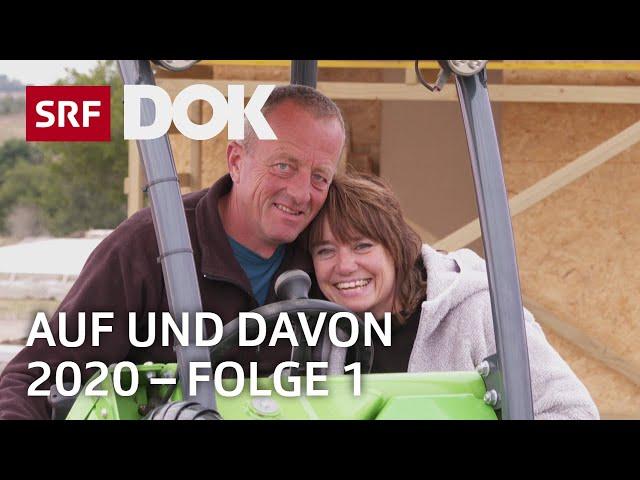 Schweizer Auswanderer | Uruguay, Kanada, Norddeutschland | Auf und davon 2020 (1/7) | Doku | SRF DOK