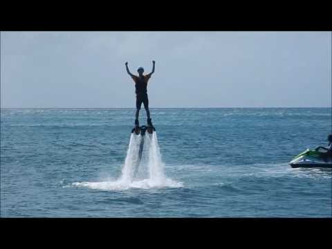 Adventure of the Seas - St Kitts:  Cockleshell Beach Flyboarding & Stand Up Paddle Boarding