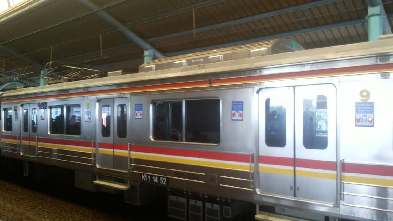 ジャカルタの電車 ( JR 205 )、...