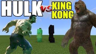 - Hulk vs King Kong Minecraft PE