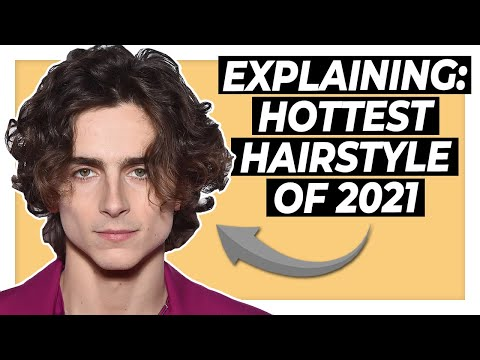 """TRENDIEST MEN'S HAIRSTYLE OF 2021   In Depth """"Middle Part"""" Review"""