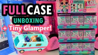 LOL Surprise OMG Tiny Toys Unboxing - Make Yiour Own Glamper!