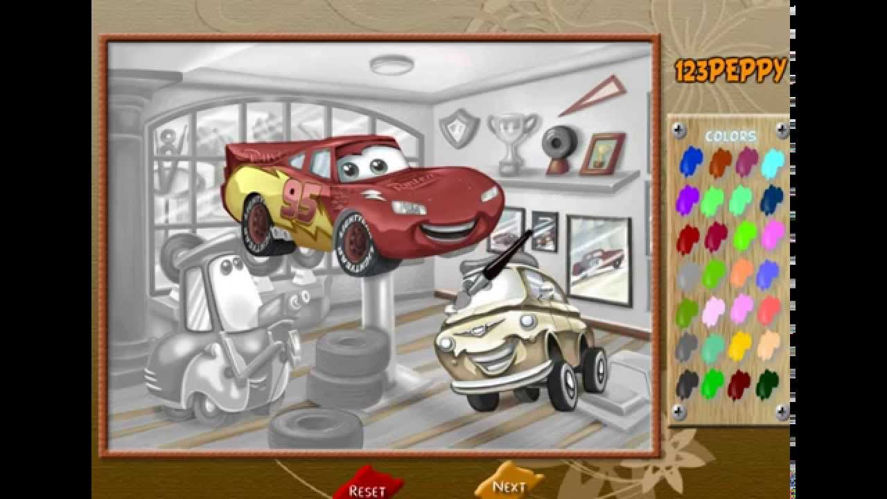 Coloring cars 2 games - Car 2 Cars Online Coloring Description Online Games Cars Online Coloring