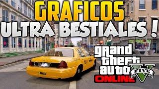 GTA 5 Online GRAFICOS ULTRA BESTIALES Con ENB Series GTA V PC MOD