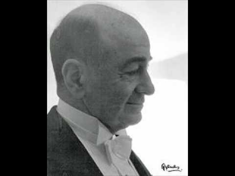 Shura Cherkassky plays Ravel Pavane pour une Infante défunte
