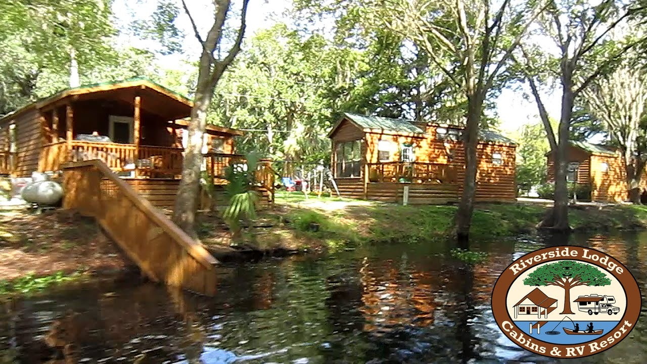 Tour Of The Florida Cabin Rentals At The Riverside Lodge Resort