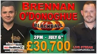 Declan Brennan v Karl O'Donoghue - £30,700 Blackball Money Match 2019