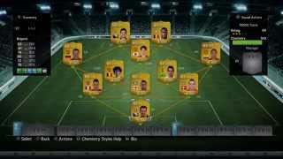 Fifa 14 Ultimate Team || أفضل تشكيلة بـ 10.000 كوينز