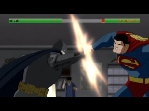 Batman vs Superman (TDKR)...with healthbars