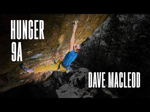 Scotland's First 9a - Dave MacLeod climbs Hunger