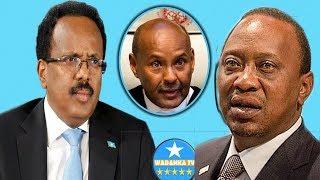 DEG DEG Kenya Oo Cadeesay In Somalia Badda Leedahay Iyo Kenya Oo Ka Baqeesa Go'doon Badeed somalia