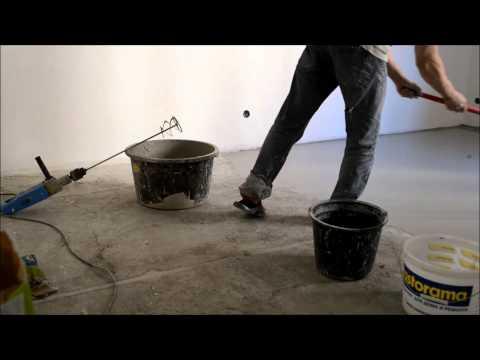видео: Монтаж наливного пола