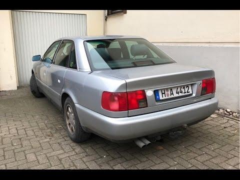 Покупка корча Audi в кузове 100 C4 A6 1996 Года 2,6