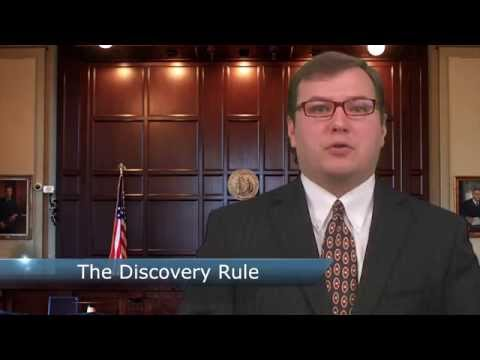 Forsyth County Attorneys - Medical Malpractice Lawsuit - Georgia Discovery Rule Explained