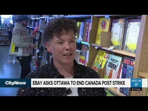 EBay Asks Ottawa To End Canada Post Strike