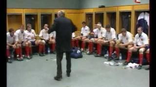 la diplomatie dans le sport 4 - Bernard Laporte (mi-temps match équipe de France)
