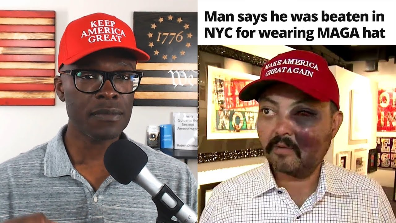 ABL NYC Art Gallery Owner BEATEN Over His MAGA Hat (REACTION)